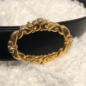 Vintage Cipriani belt, Italian Glazed Calf Finish
